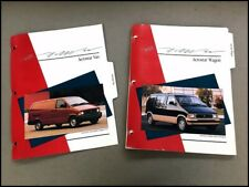 1991 Ford Aerostar Van Original Product Media News Guide Brochure