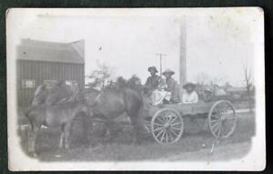 John & Julia Beaver & Children * Mikado, Oscoda, MI * Chippewa Indian * 1913