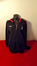 NOTTINGHAM FORREST FC OFFICIAL UMBRO HOODED WINDCHEATER GREAT COND SIZE S