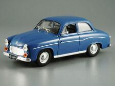 FSO Syrena 104 Blue Polish Automobile 1957 Year 1/43 Scale Diecast Model Car