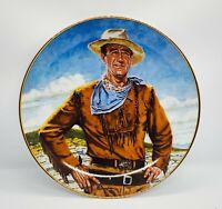 JOHN WAYNE THE DUKE Franklin Mint Porcelain Collector Plate LIMITED EDITION