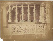 Sienne Siena Italie Italia Photo signée Y.A.A à identifier albumine ca 1860