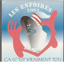 LES ENFOIRES ca (c'est vraiment toi) CD PROMO neuf (reprise telephone)