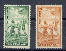 New Zealand Scott B16-B17 Mint NH (Catalog Value $32.00)
