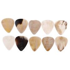 1/8Pcs Rare multi colored buffalo horn guitar pick hand made high quality W*