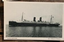 27424 cartolina nave LLOYD TRIESTINO SS Stella D Italia PC steamper AK Schiff