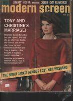 Modern Screen February 1963 Jackie Kennedy John F Jimmy Hoffa 062019AME
