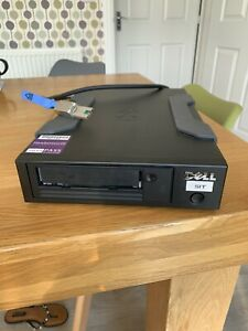 Dell Powervault LTO-6 (LTO6) External Tape Backup Drive (SAS) with Cable