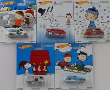 Pop Culture Assortment The Peanuts Snoopy Charlie 1:64 Hot wheels DLB45-956B