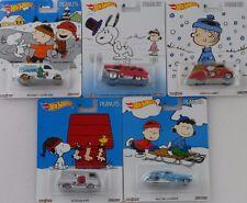 Pop Culture Assortment The Peanuts 1:64 Hot wheels DLB45-956B