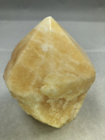 "4"" Yellow Calcite Point Cluster Crystal Quartz Natural Stone MMS"