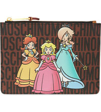 SS16 Moschino Jeremy Scott Super Mario Princesses Peach Daisy&Rosalina CLUTCH