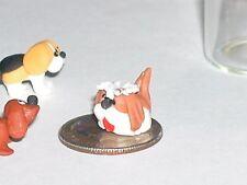 1 miniature dollhouse ity bity Tiny puppy Dog loose locket animal nail art mini