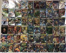 AQUAMAN #0 1 2 3 4 5 6 7 8 9 10-75 NM- 1-75 + ANNUALS COMPLETE DC COMICS SET LOT