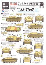 Star Decals 1/35 WAFFEN SS STURMGESCHUTZ III Part 1 Ausf C/D & Ausf F/G