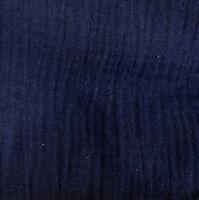 Stoff Musselin Gauze ♥  marineblau ♥   Baumwolle Kinderstoff Ökotex dunkelblau