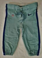 Dallas Cowboys NFL Locker Room Issued Football Pants - Size 38 Short with Belt