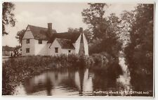 Suffolk; Flatford, Willie Lotts Cottage RP PPC Unposted, By Photochrom