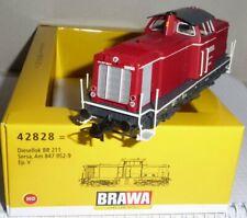 Brawa 42828 H0 Locomotive Série Au 847- Ex V 100 Le Sersa Erika Epoque 5/6 Neuf