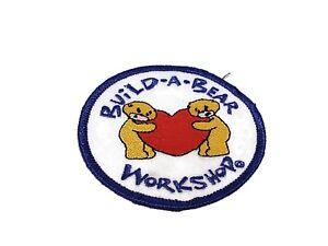 "Build A Bear Workshop 3"" heart badge Set Bear Stuff Girl Scouts sash vest patch"