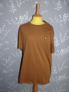 Lyle & Scott - Vintage Wear Tawny Brown T Shirt - Size XL - Brand New With Tags