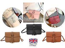 Ladies Women Fringe Messenger Shoulder Tassel Bag Handbag Crossbody Bag Phone
