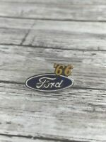 FORD OVAL '66 AUTO HAT PIN LAPEL PIN TIE TAC ENAMEL BADGE