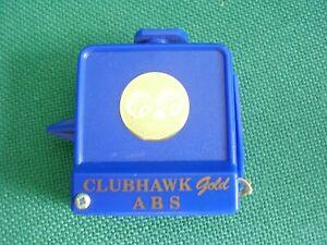 CLUB HAWK GOLD Bowls Measure Tape & Calipers