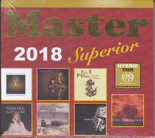 """Master Superior 2018"" Master Music Audiophile Stereo Hybrid SACD CD New Sealed"