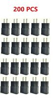 100x 2A USB Wall Charger Plug Home Power Adapter For Samsung Android LG Black