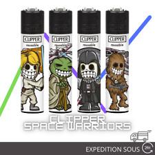 Briquets Clipper Collection Space Warriors x4