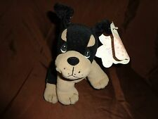 """Precious Moments Stray Paws Rottweiler 8"""" Plush Soft Toy Stuffed Animal"""