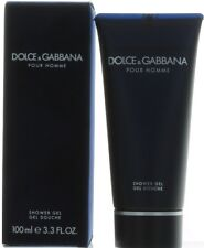 Dolce & Gabanna by Dolce & Gabanna for Men Shower Gel 3.3 oz. New in Box