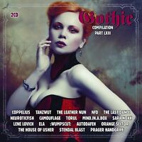 GOTHIC COMPILATION 63 2 CD NEU