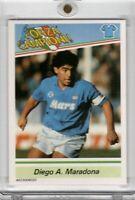 1983 Kenner Forza Campioni Diego Armando Maradona Napoli Italian Rare Card