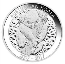 2017-P Australia 10 oz Silver Koala - 10th Anniversary $10 Proof W/OGP SKU47112