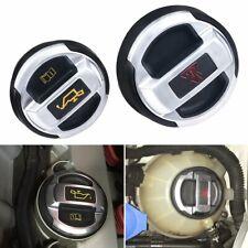 2X Oil Filler Cap Retrofit Oil Expansion Tank Cap Lid 420103485B fit for Audi R8