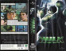 Hulk (2003) VHS UNIVERSAL