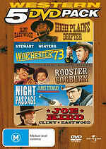 Western 5 DVD Pack: High Plains Drifter, Rooster Cogburn, Joe Kidd, Winchester