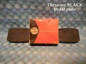 1935 36 37 38 39 40 41 42 Buick NORS Pedal Pads Pair Nash 1929 1930 Pontiac