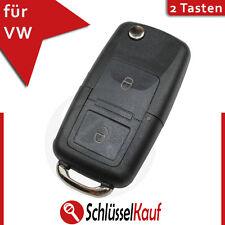 VW 2 Tasten Klappschlüssel Auto Schlüssel Gehäuse Volkswagen Funk Fernbedienung
