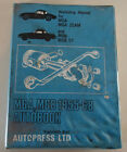 Repair Manual MG A+ MG B - Roadster + Gt, Year of Manufacture From 1962