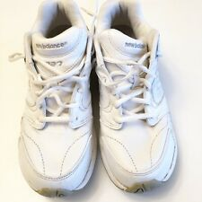 New Balance 927 White Health Leather Walking Shoes Rollbar Women's Size 9