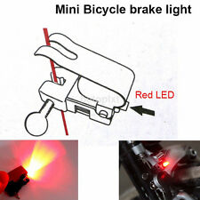 Bike Brake Light Mount Tail Rear Bicycle Cycling LED Safety Warning FR