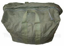 US Military FLYERS KIT BAG Air Force USAF Pilot Parachute Large Duffel OD Green