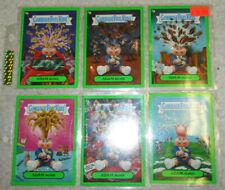 GARBAGE PAIL KIDS FLASHBACK SERIES 2 2011 GREEN ADAM BOMB MANIA 2 4 5 7 9 10
