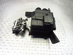 2009 08-12 Kawasaki EX250 Ninja 250R Carburetor Carb Intake Airbox Cleaner OEM