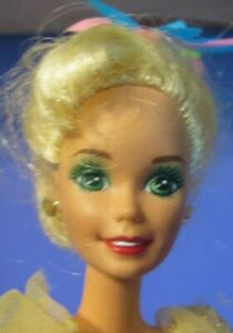 Vtg 1992 Mattel Holiday Hostess Christmas Barbie Redressed