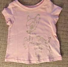 NWT~Baby Gap DISNEY~Bambi Pink Girls T-Shirt~3T
