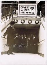 PARIS METRO Châtelet Porte des Lilas Inauguration 1935